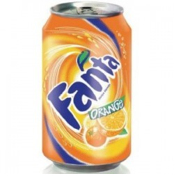 FANTA orange 33 cl bm