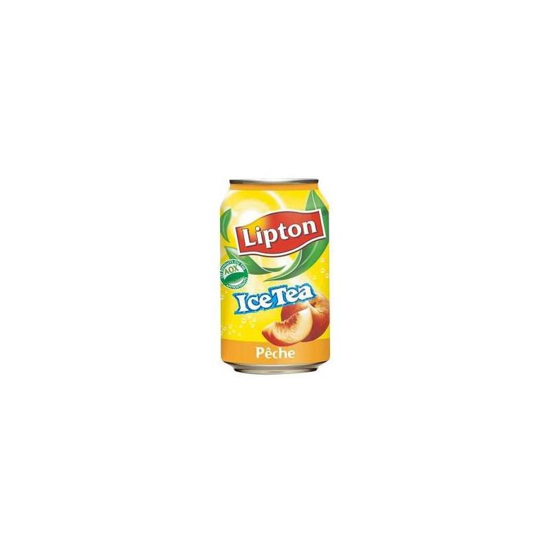 LIPTON ice tea pêche 33 cl boite métal