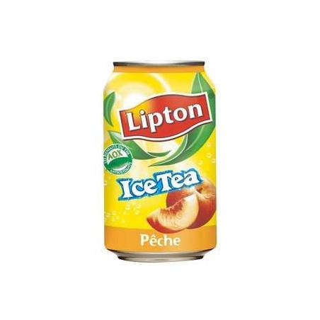 LIPTON ICE TEA PECHE 33 cl BOITE METAL