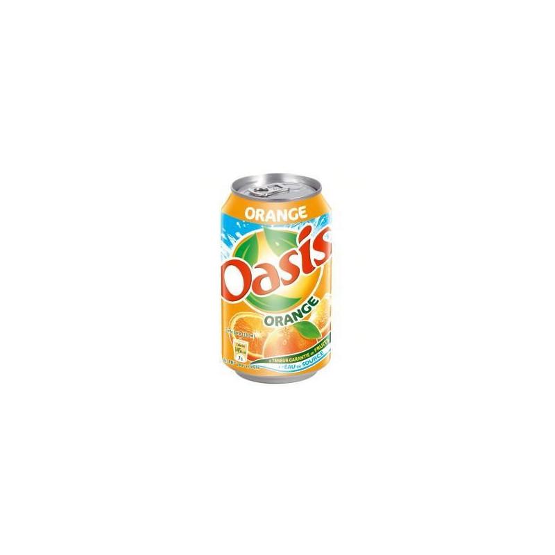OASIS orange 33 cl boite métal