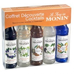 Coffret MONIN COCKTAIL 5 x 5 CL