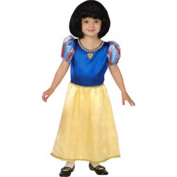 COSTUME DISNEY PRINCESSE BLANCHE NEIGE LICENCE TAILLE 104CM