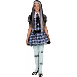 COSTUME LICENCE MONSTER HIGH FRANKIE STEIN 10/12 ANS
