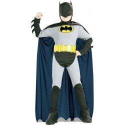 COSTUME LICENCE BATMAN TAILLE 3/4 ANS ENVIRON