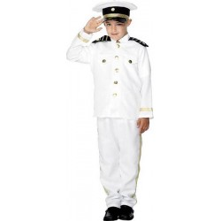 COSTUME CAPITAINE TAILLE 130 CM 6/8 ANS