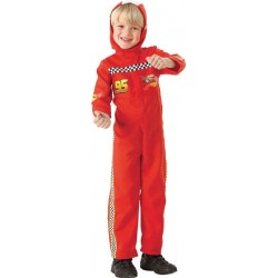 COSTUME DISNEY FLASH MAC QUEEN CARS TAILLE 5/6 ANS