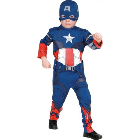 COSTUME LICENCE CAPTAIN AMERICA ENFANT