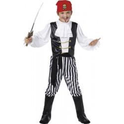 COSTUME ENFANT PIRATE TAILLE L 10/12 ANS