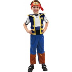 COSTUME LICENCE JAKE LE PIRATE TAILLE S 3/4 ANS