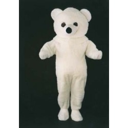 MASCOTTE OURS BLANC (15A)