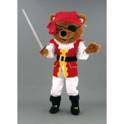 MASCOTTE OURS PIRATE (127A)
