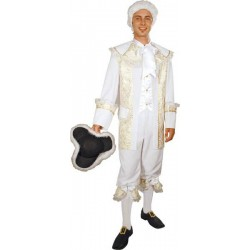 COSTUME MARQUIS BLANC TAILLE 50/52