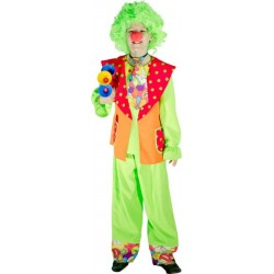 COSTUME CLOWN PIPO TAILLE 116 CM 4/5 ANS