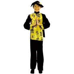 COSTUME ENFANT CHINOIS TAILLE 104 CM 3 ANS