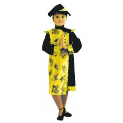 COSTUME ENFANT CHINOISE TAILLE 104 CM - 3 ANS