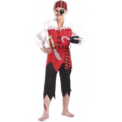 COSTUME ENFANT PIRATE JOHN 104 CM 3 ANS