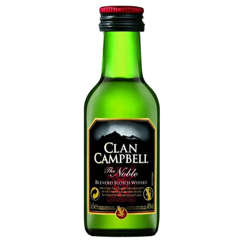 CLAN CAMPBELL 0,05 LITRE 40° MIGNONNETTE
