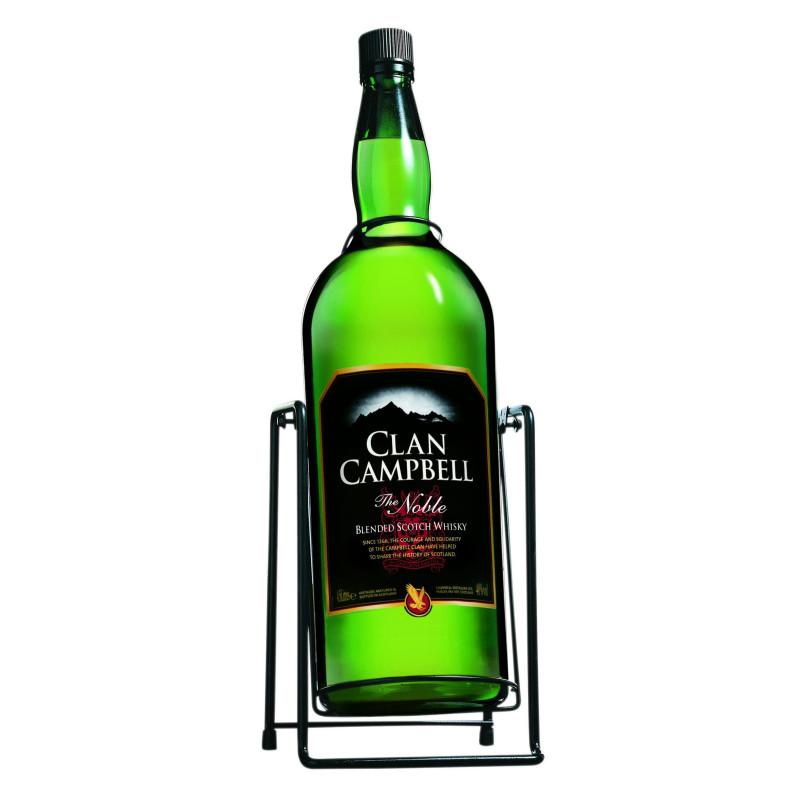 CLAN CAMPBELL 4,5 LITRES 40° AVEC BALENCELLE