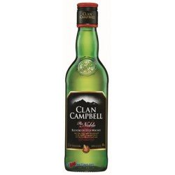 CLAN CAMPBELL 0,35 LITRE 40°