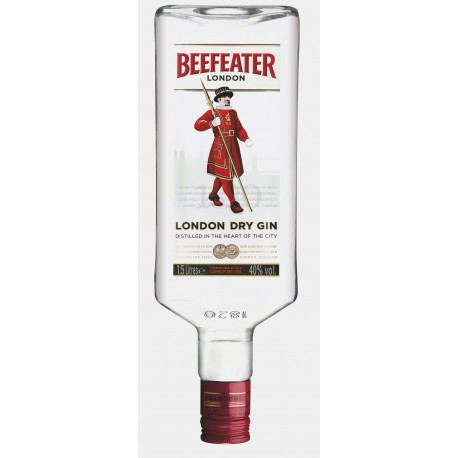 GIN BEEFEATER 1,5 LITRES 40°