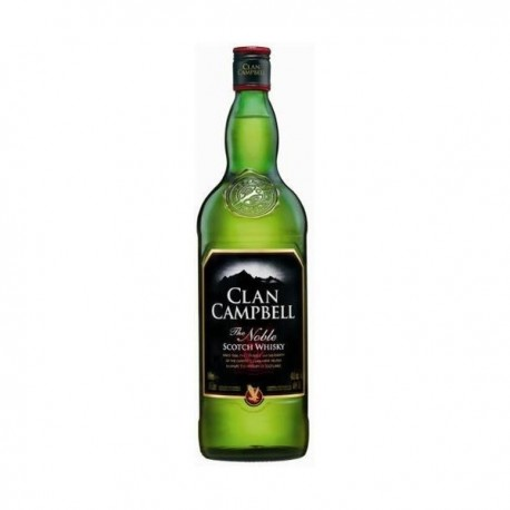 CLAN CAMPBELL 1 LITRE 40°