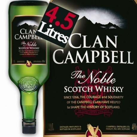 CLAN CAMPBELL 4,5 LITRES 40° LE GALLON