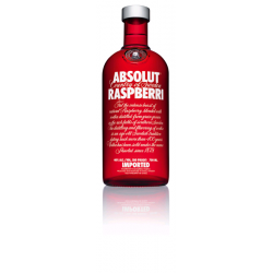 VODKA ABSOLUT RASPBERRI 0.7L 40° VP