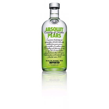 VODKA ABSOLUT PEARS POIRE 0.7L 40°