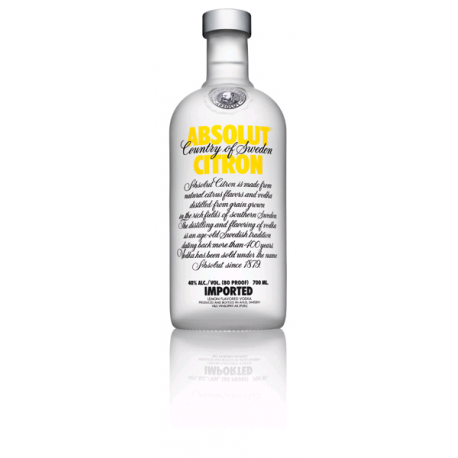 VODKA ABSOLUT CITRON 0.7L 40° VP
