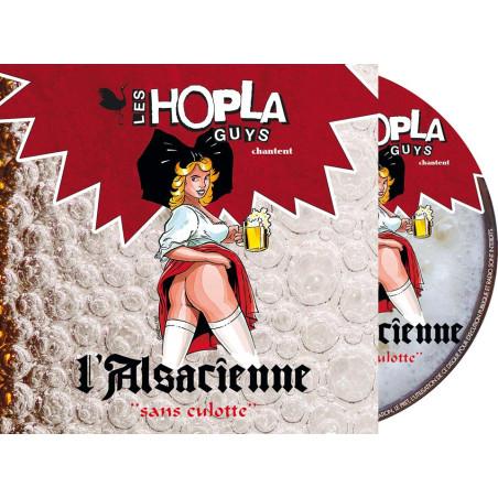 """CD 2 TITRES L'ALSACIENNE SANS CULOTTE """""""