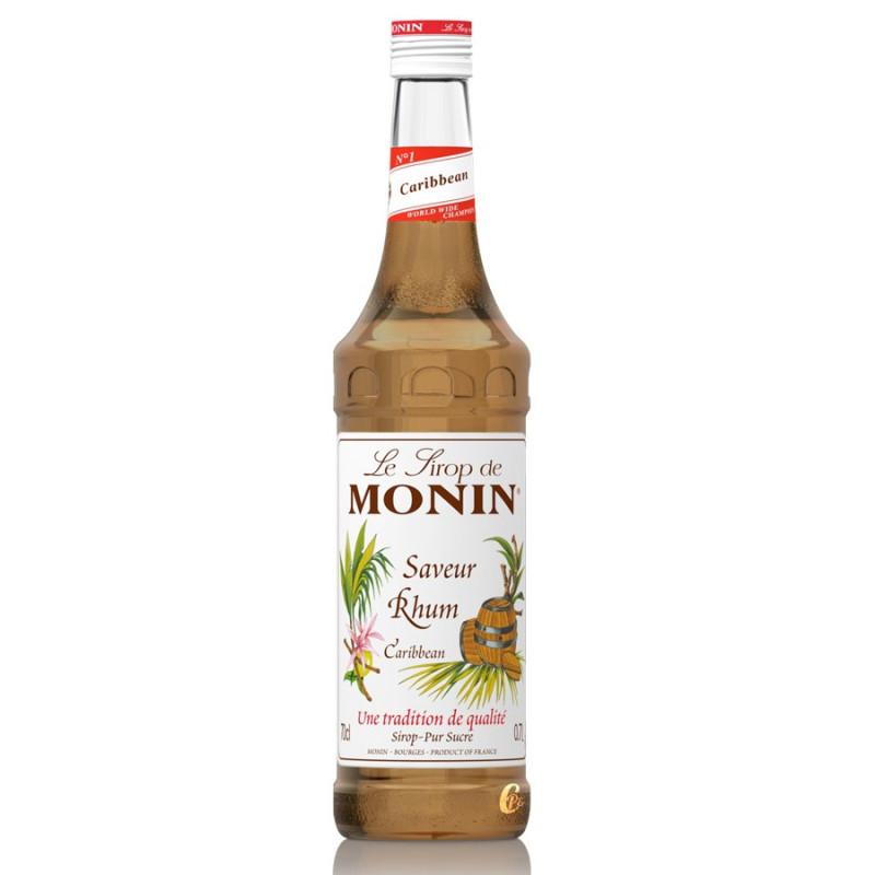SIROP MONIN CARIBBEAN (saveur RHUM) 70 cl