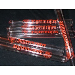 TUBE TRANSPARENT JAGERMEISTER 14cm