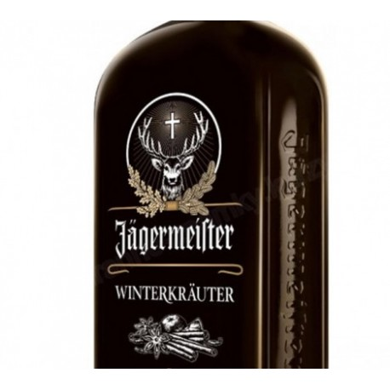 JAGERMEISTER WINTERKRAUTER BOUTEILLE 70 cl 25°