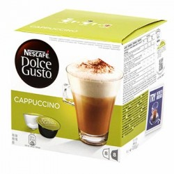 CAFE DOLCE GUSTO NESCAFE CAPPUCCINO BOITE 8 CAPSULES - 200gr