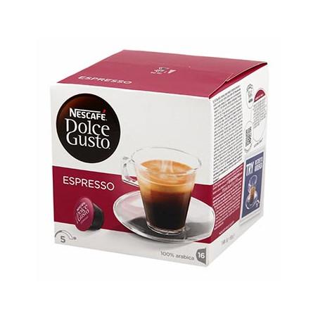 CAFE DOLCE GUSTO NESCAFE ESPRESSO BOITE 16 CAPSULES - 95gr