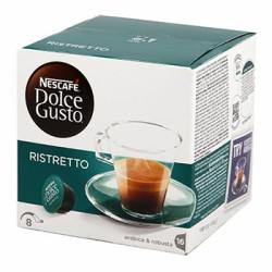 CAFE DOLCE GUSTO NESCAFE ESPRESSO RISTRETTO BOITE 16 CAPSULES - 104gr