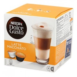 CAFE DOLCE GUSTO NESCAFE LATTE MACCHIATTO - 8 CAPSULES - 194gr