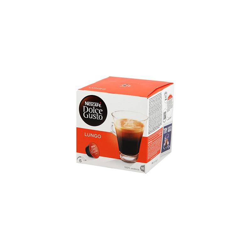 CAFE DOLCE GUSTO NESCAFE LUNGO BOITE 16 CAPSULES - 112gr