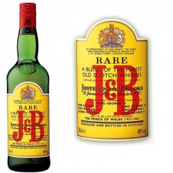 WHISKY J&B BOUTEILLE 70cl 40°