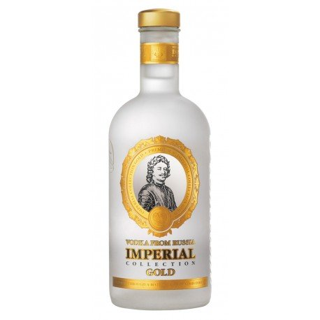 VODKA IMPERIAL COLLECTION GOLD 1 LITRE 40°