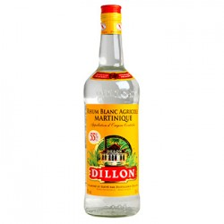 RHUM BLANC DILLON 1 LITRE 55°
