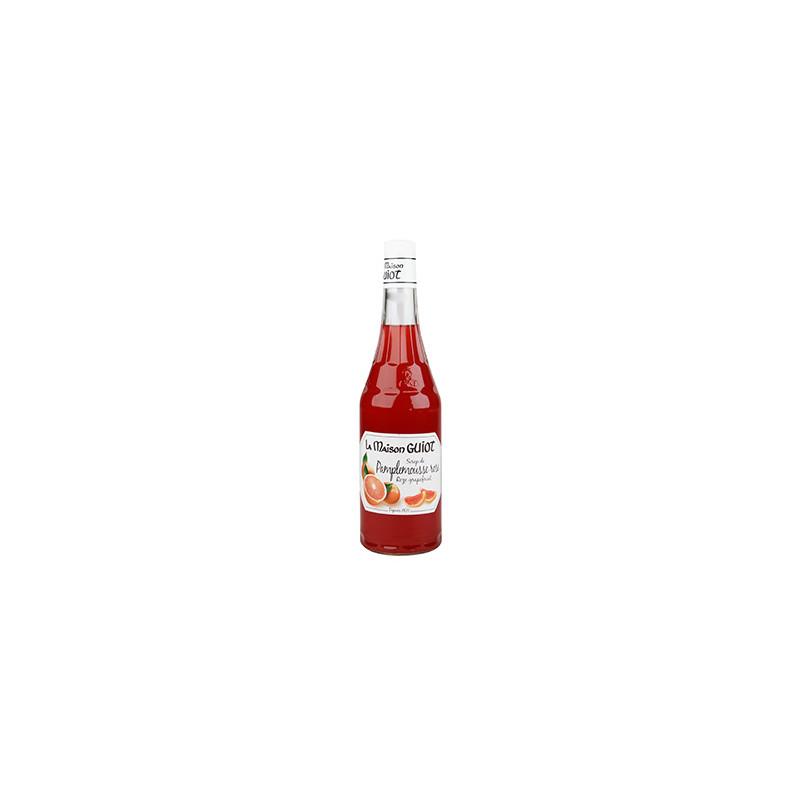 SIROP LA MAISON GUIOT PAMPLEMOUSSE ROSE BOUTEILLE 70cl verre perdu