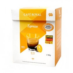 CAFE DOLCE GUSTO EXPRESSO CAFE ROYAL BOITE 16 CAPSULES - 96gr
