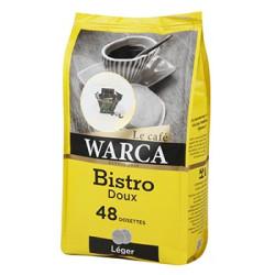 CAFE WARCA BISTRO DOUX 336gr 48 DOSETTES