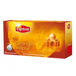 LIPTON THE ORANGE JAIPUR 20 MOUSSELINES