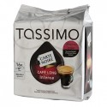 CAFE TASSIMO LONG INTENSE 16 DOSETTES 128 grammes