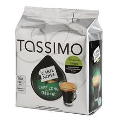 CAFE TASSIMO LONG DELICAT 16 DOSETTES 110 grammes