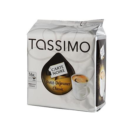 CAFE TASSIMO PETIT DEJEUNER CLASSIC 16 DOSETTES 133 grammes