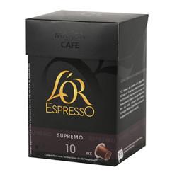 CAFE L'OR EXPRESSO SUPREMO N°10 10 CAPSULES 52 grammes.jpg