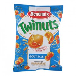 CACAHUETES TWINUTS SALE BENENUTS 150 Grammes